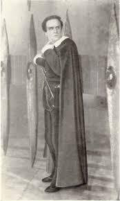 «Гамлет». Гамлет — Б. Фрейндлих. Академический театр драмы им. А.С. Пушкина, Ленинград, 1954