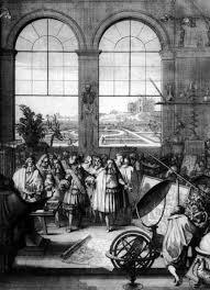Визит короля Людовика XIV в Академию наук в 1671 году